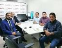 VEREADORES SE REÚNEM COM PROCURADORES DO MINISTÉRIO PÚBLICO DO TRABALHO EM SANTARÉM